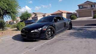Taking a Twin Turbo R8 to a Car Meet