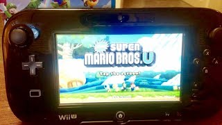 Wii U New Super Mario Bros U CONTROLLER GAMEPLAY HD