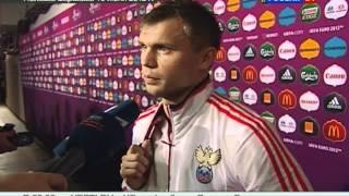 видео Россия - Италия: последняя игра перед ЕВРО 2012