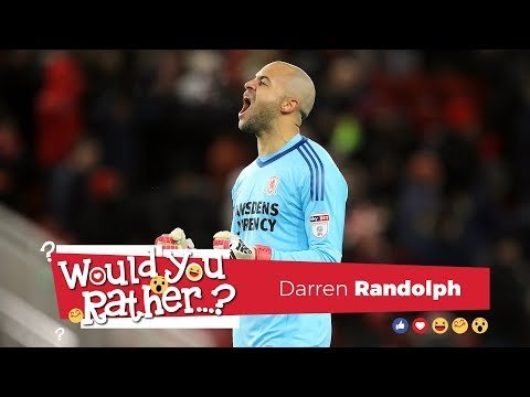 Would You Rather? with Darren Randolph