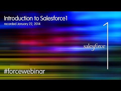 Intro to Salesforce1 Mobile App Development Webinar