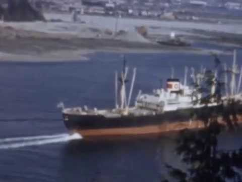 Burrard Inlet from Second to First - a tour of the Vancouver harbour in 1956