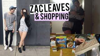 Zac Leaves, Bagel Bread, & Cheers | Keepingupwithkenzie