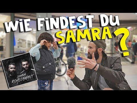 Samra - Rohdiamant (prod. Bushido) | LIVE REAKTIONEN VON DER STRAßE !
