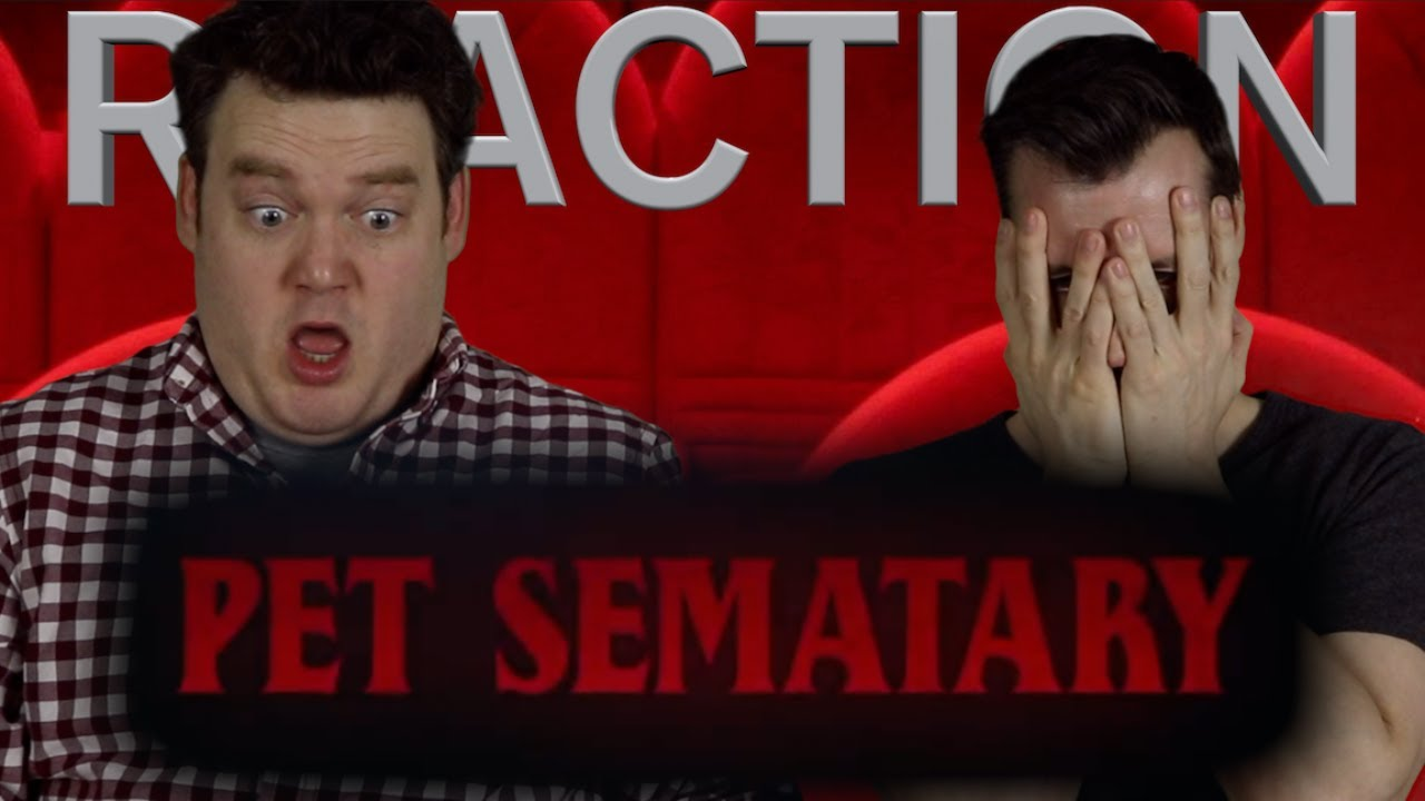 Pet Sematary - 2nd Trailer Reaction/Review/Rating