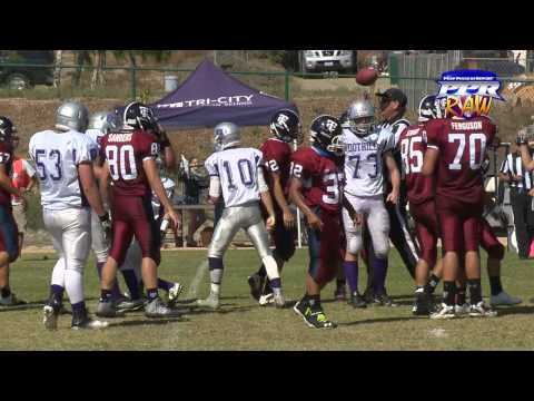 Week 7 Raw: Tri-City ChristianHigh School 50, Foothills Christian High School33