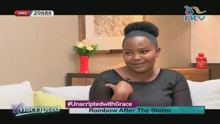 Rainbow after the storm - Jemima's battle with fibroids | #UnscriptedWithGrace