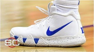 How Zion Williamson's new custom Kyrie 4s came about | SportsCenter