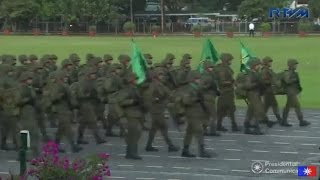 Armed Forces of the Philippines 81st Founding Anniversary Military Parade December 21, 2016