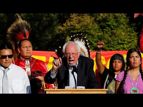 Bernie Sanders on the Dakota Access Pipeline & Treaty Rights Violations by U.S. Government
