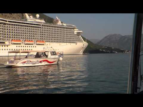 Royal Princess Cruise Ship, Bay of Kotor, Montenegro