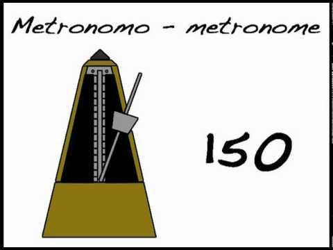 METRONOME -METRONOMO 150 BPM