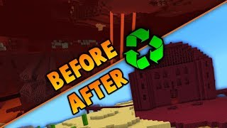 Why Did I Destroy A Nether Fortress Just To Rebuild It?