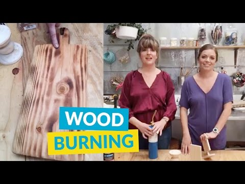 How To Wood Burn Furniture