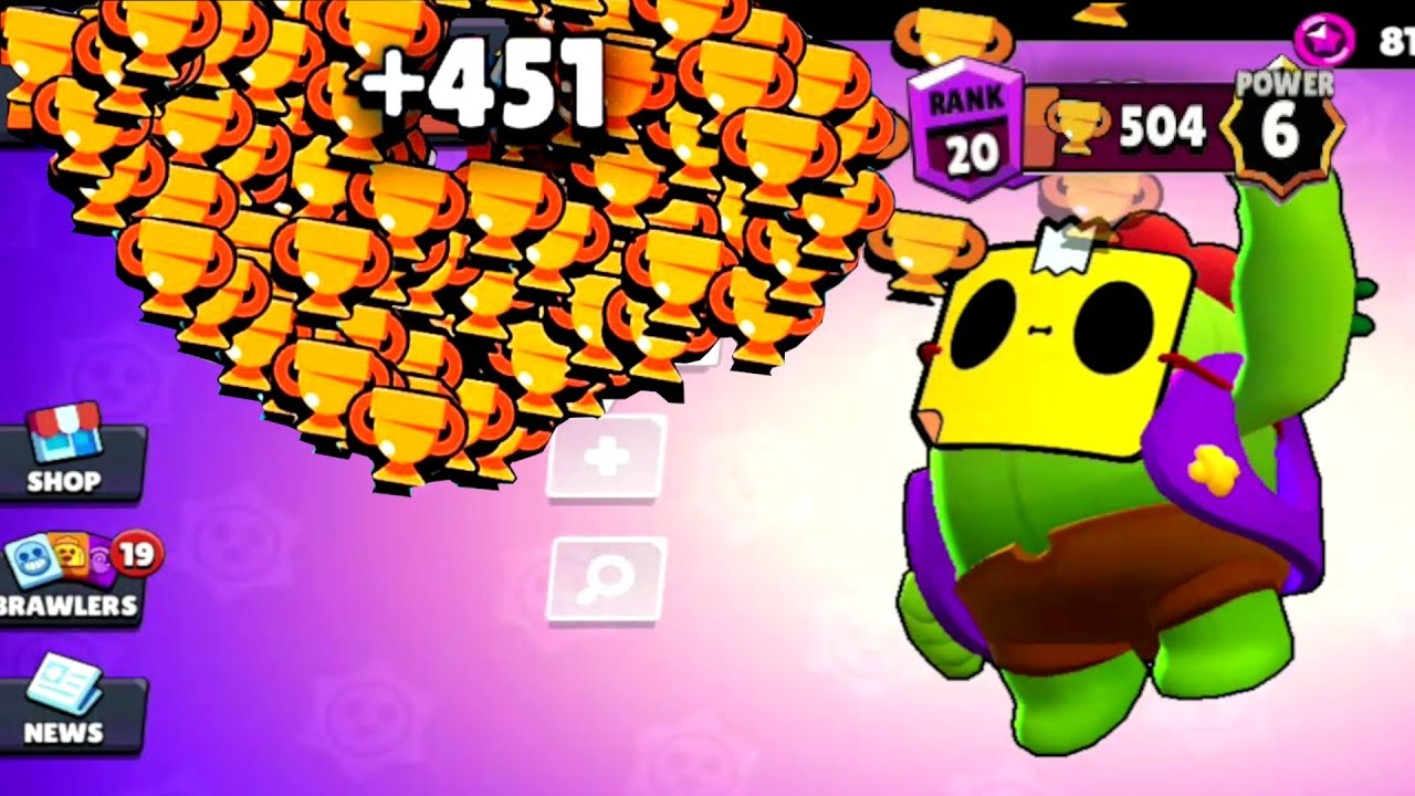 Mask Spike NONSTOP to 500 Trophies! Brawl Stars Colette