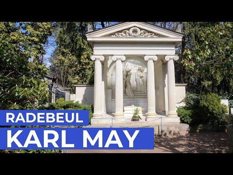 KARL MAY | 2 Frauen und die seltsame Geschichte seines Grabes | Radebeul