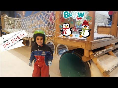 Lego Store & Fun Snow Park in Dubai!!