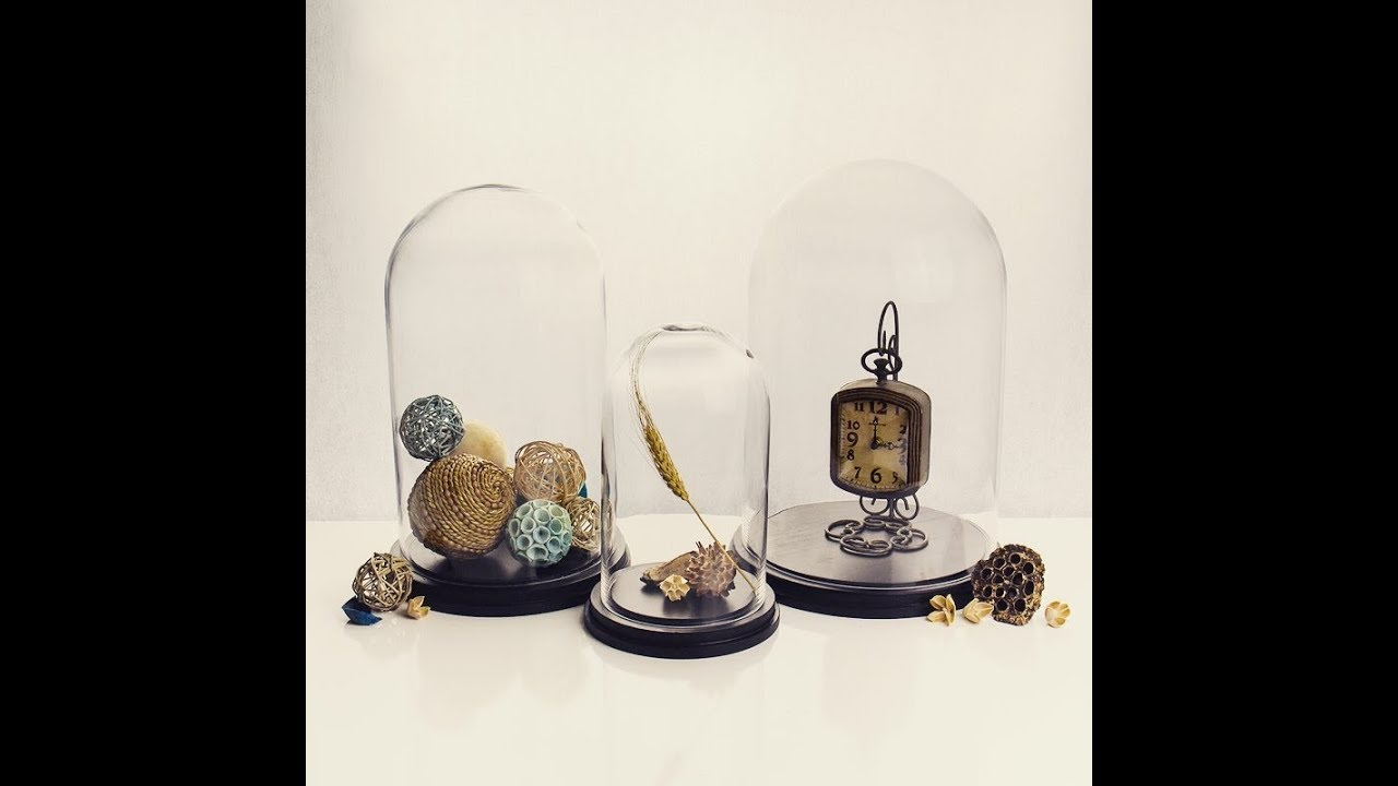 Gl Cloche Dome Bell Jar Terrariums