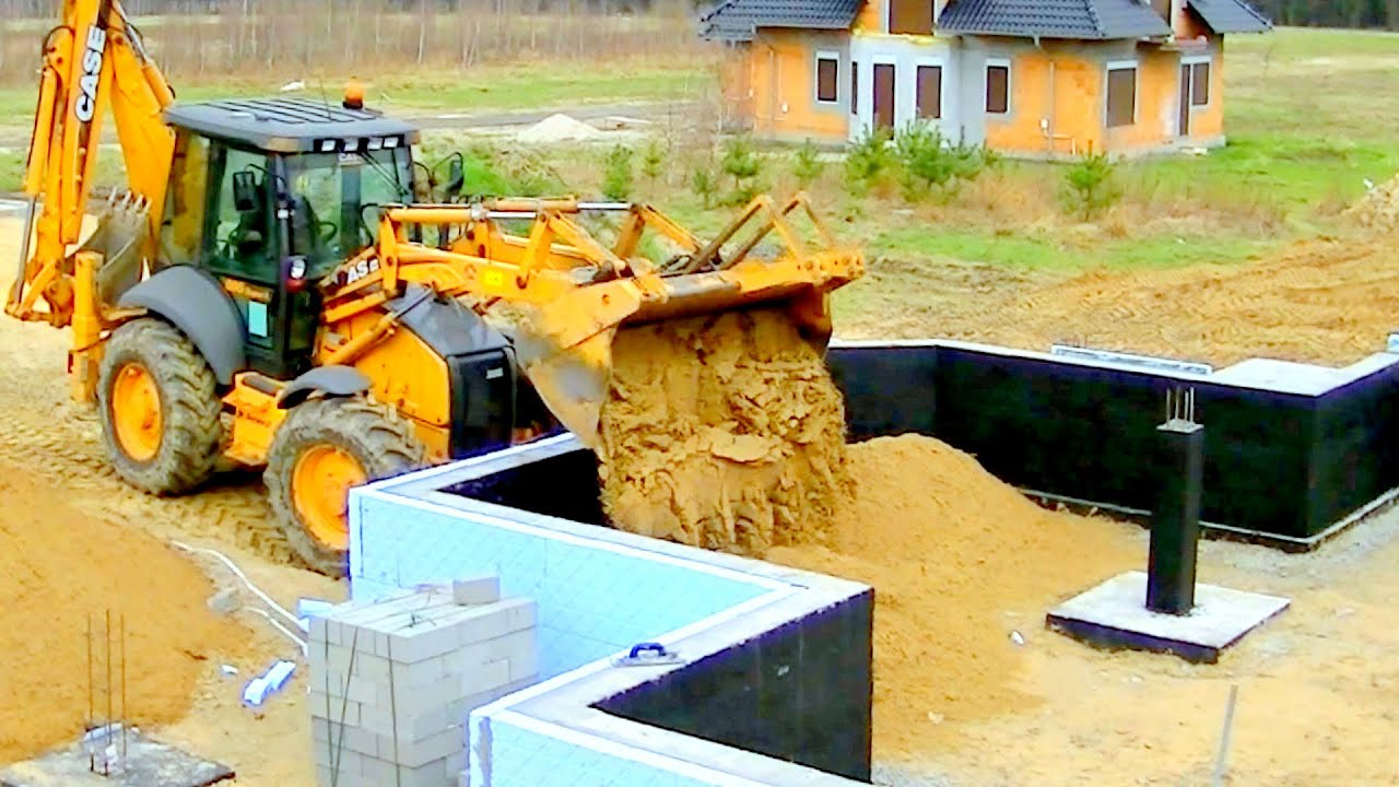 Construction dune maison unifamiliale full hd 10e e remplacement et le compactage du sol youtube