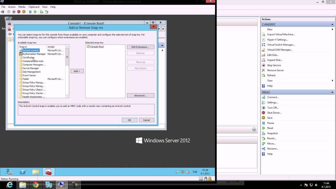 setup sstp vpn windows server 2012