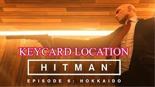 Hitman Keycard Situs Inversus  location Walkthrough episode 6 hokkaido PS4 Xbox PC