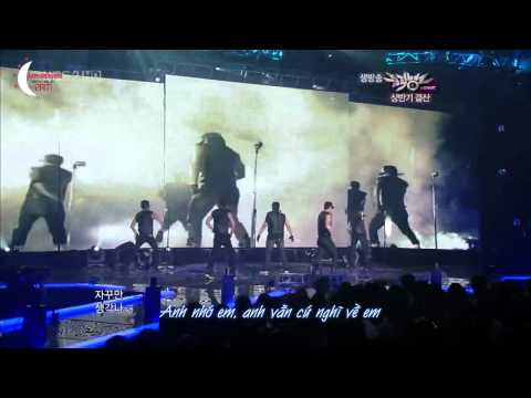 {IVH Vietsub} 2AM, 2PM, SuJu Special Stage - Rain's Love Song (cover)