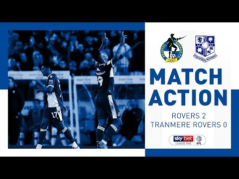 Match Action: Bristol Rovers 2-0 Tranmere Rovers