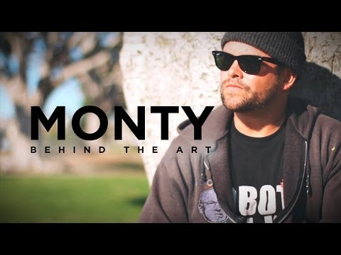 MONTY, Behind The Art  –  Short Documentary