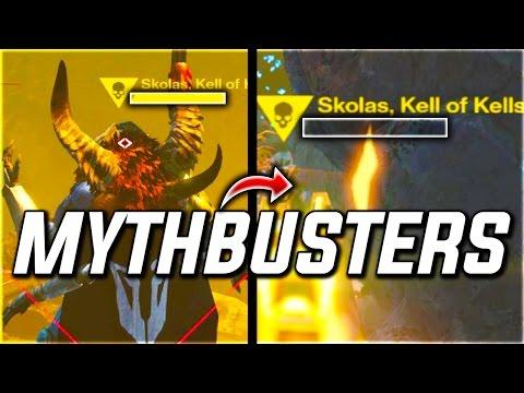 Destiny MYTHBUSTERS: KILL SKOLAS IN A MISSION & MORE!? (Destiny Gameplay)