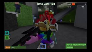 CK's Channel - Roblox - Zombie Rush - Dealing with the hordes