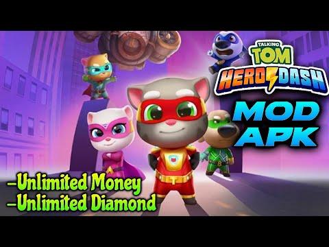 Talking Tom Hero Dash Mod Apk