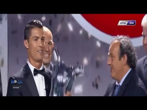 Cristiano Ronaldo | wins UEFA Best Player in Europe Award 2013-2014
