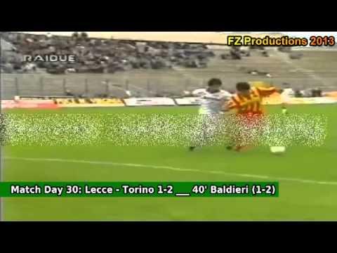 Serie A 1993-1994, day 30 Lecce - Torino 1-2 (Baldieri goal)