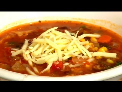 Vegetarian Tortilla Soup Recipe: Soup Recipes