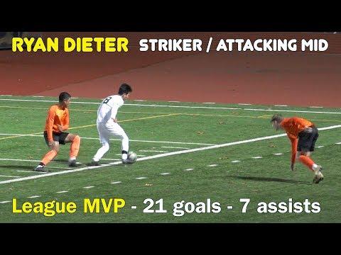Ryan Dieter Senior Year High School Soccer Highlights