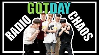 GOTDAY MOMENTS | When DAY6 invades GOT7's radio station