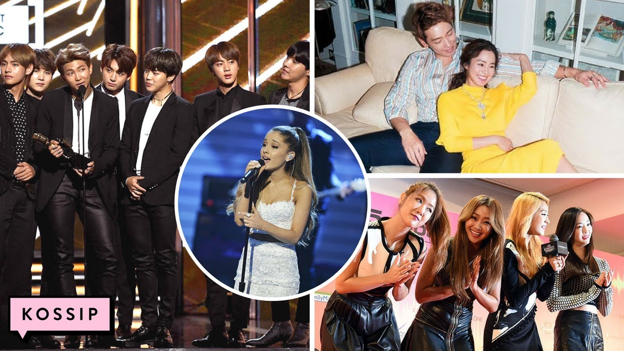 BTS React To Ariana Grande Concert Attack | Sistar Disbands + Kim Tae Hee  Pregnancy Announcement
