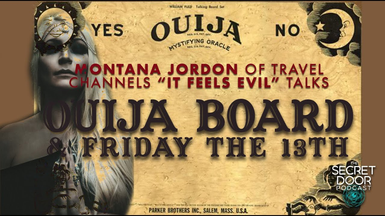 "Montana Jordan of Travel Channels ""IT FEELS EVIL"" talks Ouija Board & History Of Friday 13th"