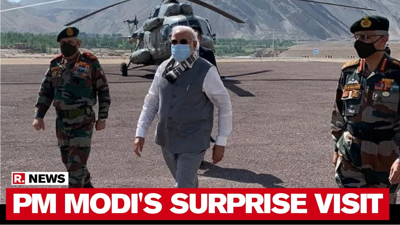 PM Modi Sends Loud Message To China With Leh Visit | Experts Speak To Republic