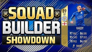 FIFA 18 SQUAD BUILDER SHOWDOWN!!! TEAM OF THE SEASON VARDY!!! First Fifa 18 TOTS SBSD