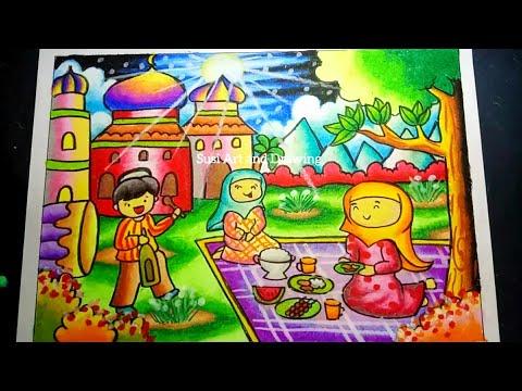 Lomba Mewarnai Contoh Poster Ramadhan Anak Sd Ada Lomba
