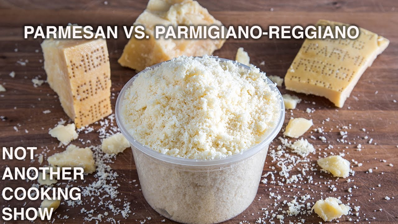 you are using the WRONG PARMESAN CHEESE
