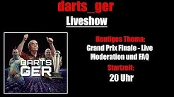 PDC Grand Slam of Darts 2019 FINALE - LIVE MODERATION - FAQ - Darts_Ger Liveshow