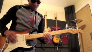 "Joe Bonamassa - ""Happier Times"" (instrumental cover) Urban Guitar Legend"