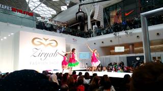 Bollywood dance in London. @westfield shopping mall