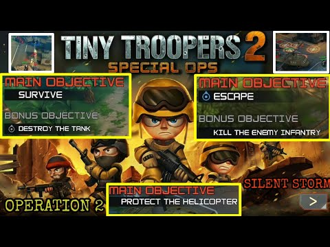 TINY TROOPERS | OPERATION 2:SILENT STORM | OFFLINE GAME |