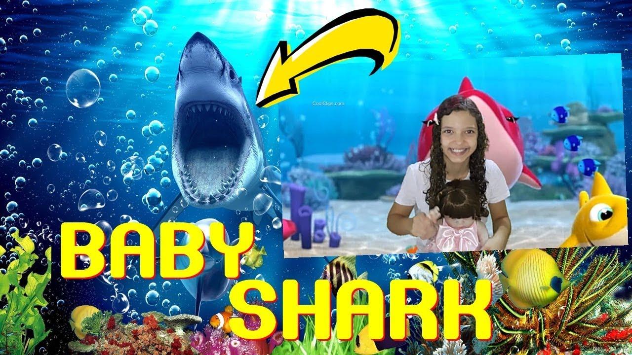 Baby Shark | Bebê Tubarão Dança | Kids Songs and Nursery Rhymes | Canções animais Songs for children