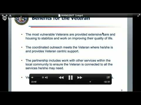 VA Partnerships Showcase: Working together to end Veteran homelessness