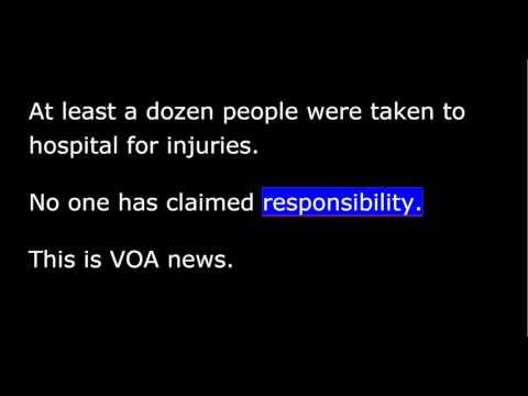 VOA news for Thursday, October 8th, 2015