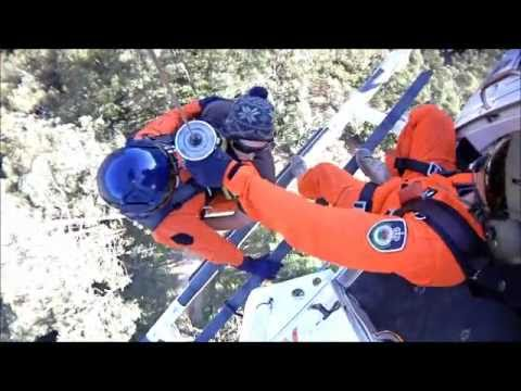 Helicopter Winch Rescue